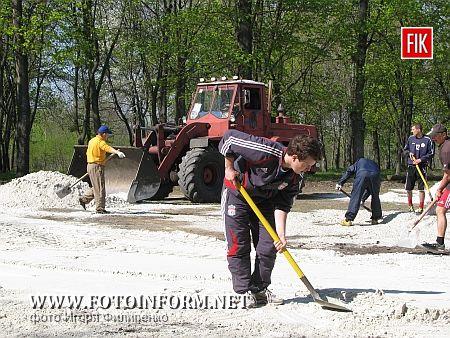 Кировоград: массовая уборка города (фото)