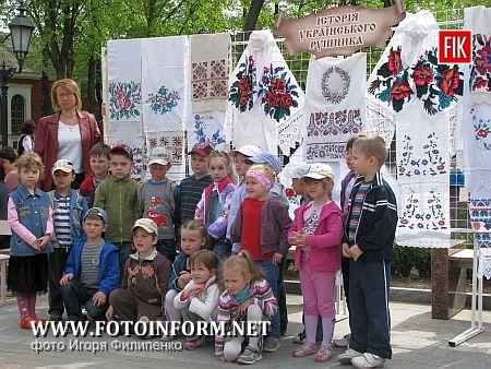 Кировоград превратился в «Писанковий рай»