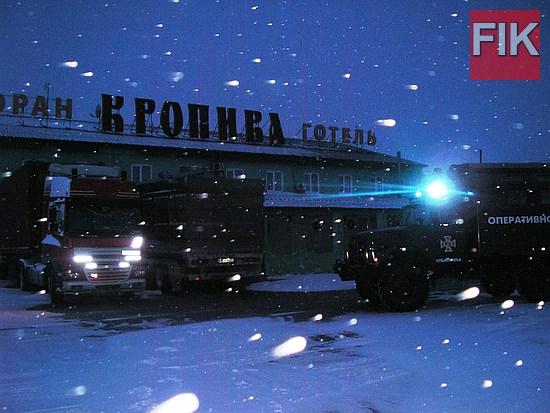 На виконання протокольного рішення засідання Кіровоградського обласного оперативного штабу під головуванням очільника Кіровоградської обласної державної адміністрації С. Кузьменка, визначено місця відстою великогабаритного автотранспорту.