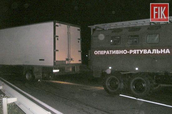Кіровоградщина: на автошляху Одеса-Київ сталася ДТП