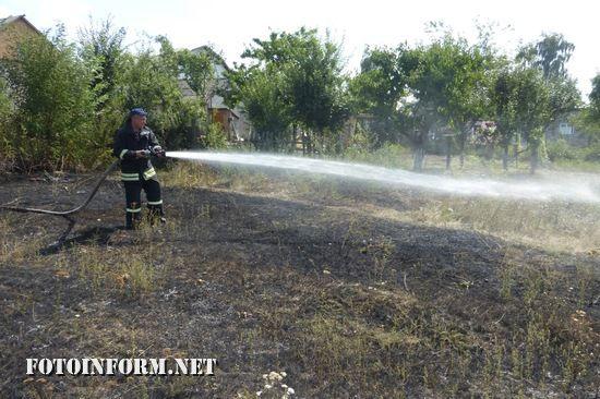 Протягом минулої доби на території Кіровоградської області виникло 2 пожежі сухої трави на відкритих територіях.