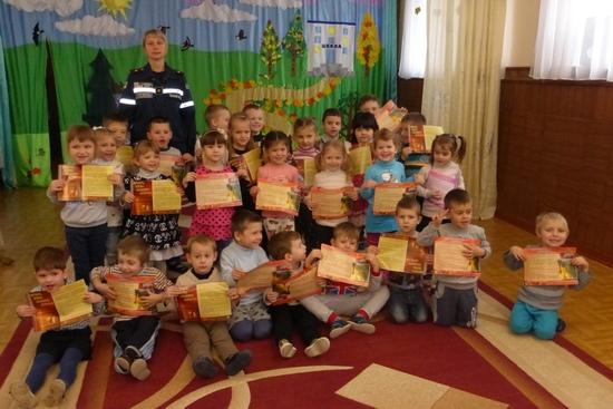 вихованці дитячого садка «Супутник