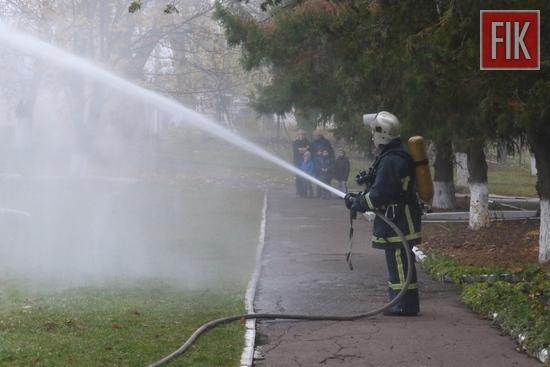На Кіровоградщині рятувальники провели захід для дітей