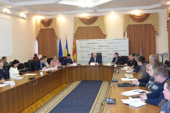 20 грудня під головуванням першого заступника голови облдержадміністрації Сергія Коваленка відбулося засідання обласної комісії з питань ТЕБ та НС.