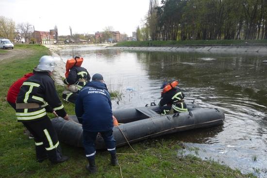 Кропивницький: в центрі міста в Інгулі втопився чоловік