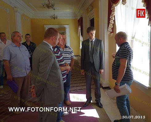 Кіровоград: триває реконструкція обласної філармонії (ФОТО)