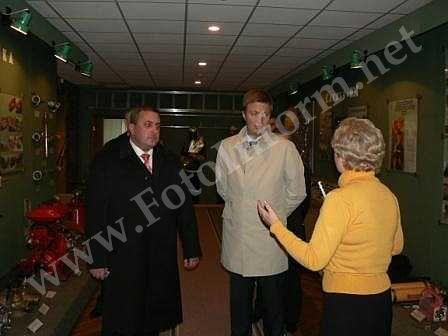 Андрій Ніколаєнко побував у обласному управлінні МНС (ФОТО)