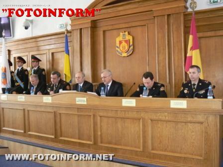 За підсумками діяльності у 2011 році пожежно-рятувальну службу Кіровоградської області визнано однією з кращих в Україні (ФОТО)