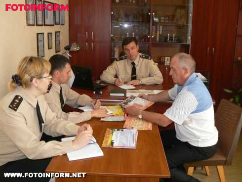 Кіровоградська область: рятувальники і Червоний Хрест співробітничатимуть на постійній основі