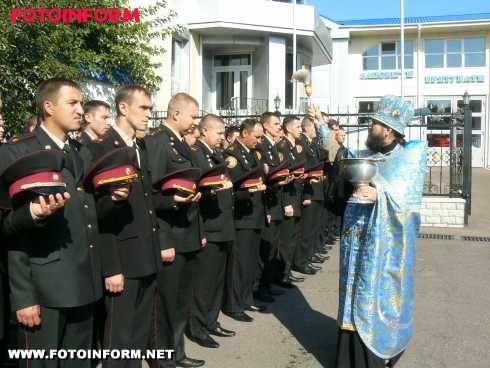 Кіровоград: рятувальників благословили з нагоди свята Покрови (ФОТО)