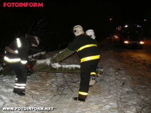Кіровоградська область: під час негоди надано допомогу водіям та комунальникам (фото)