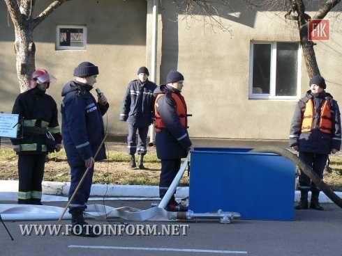 Кіровоград: рятувальники готові до дій у разі виникнення паводку (фото)
