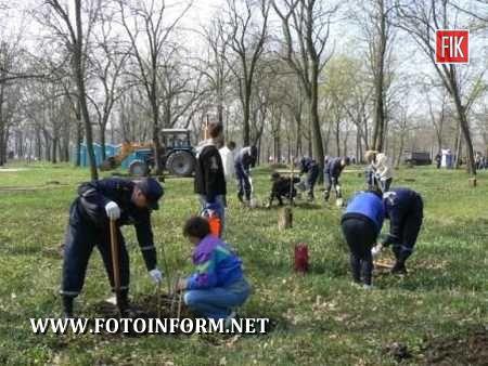 Кіровоград: рятувальники приєдналися до Дня довкілля (ФОТО)