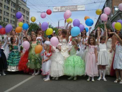 Парад наречених «Наречені за добро!» (ФОТО)