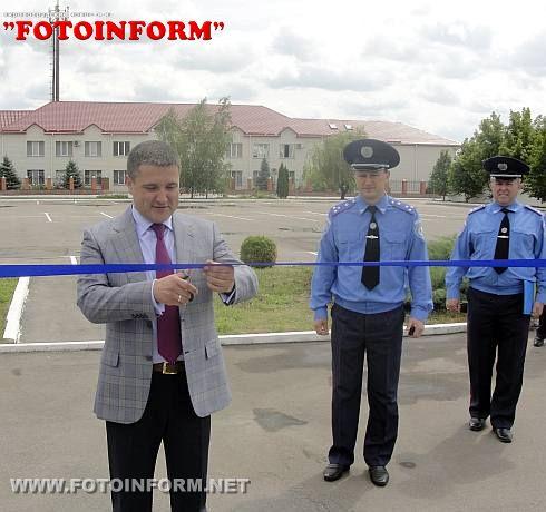 При УМВС в Кіровоградській області відкрито дитячий футбольний клуб (ФОТО)
