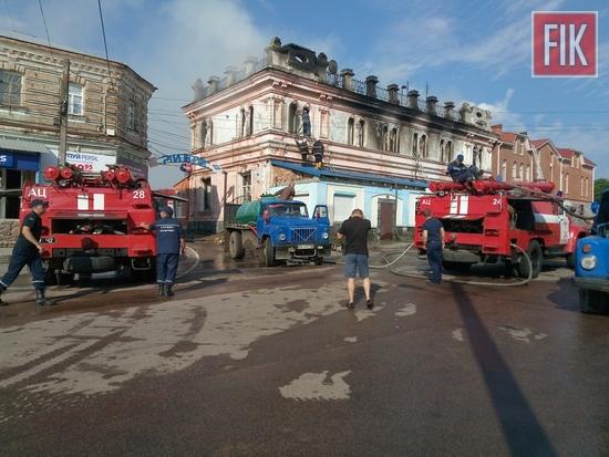 11 липня о 04:24 до Служби порятунку «101» надійшло повідомлення про пожежу на вул. Вознесенській у м. Бобринець.