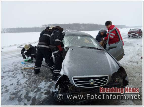 Кіровоградщина, зіткнулися два автомобіля, є загиблі, ДТП