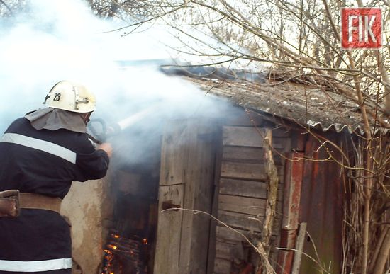 25 березня о 16:43 до Служби порятунку «101» надійшло повідомлення про пожежу на вул. Челюскіна в с. Плетений Ташлик Маловисківського району.