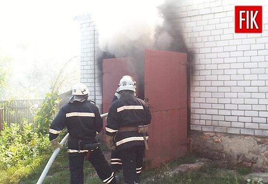 15 серпня об 11:05 до Служби порятунку «101» надійшло повідомлення про те, що у м.Мала Виска на території приватного домоволодіння горить легковий автомобіль.