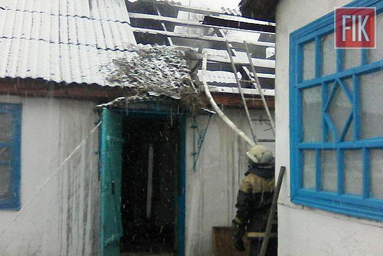27 січня о 06:43 до Служби порятунку «101» надійшло повідомлення про пожежу на території приватного домоволодіння у с. Червоне Гайворонського району.