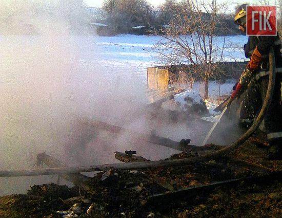 23 січня о 05:35 до Служби порятунку «101» надійшло повідомлення про пожежу гаража у приватному домоволодінні с. Докучаєво Устинівського району.