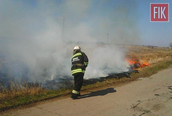Впродовж 23 березня пожежно-рятувальні підрозділи Кіровоградської області виїздили на ліквідацію пожеж сухостою та сміття 8 разів. Поблизу с. Березівка Долинського району о 12:32 загорілась суха трава на площі 1,4 га. Пожежу здолали рятувальники 20-ї Державної пожежно-рятувальної частини м. Долинської.