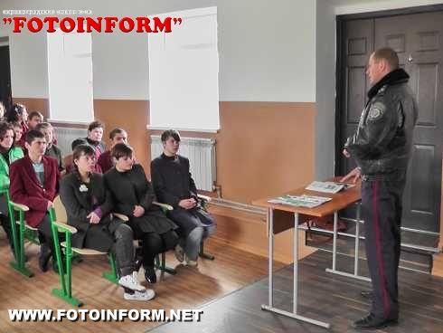 Інспектори ДАІ завітали до Шостаківської школи-інтернат (ФОТО)
