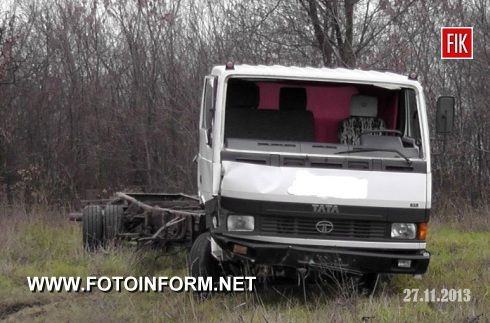 Кіровоградщина: ДТП на залізничному переїзді (ФОТО)