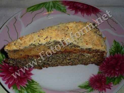 маковый торт, Жемчужина сладкого стола , домашний повар, кировоград, кировоградские новости