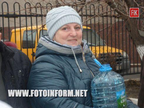 Вчера, 19 января, кировоградцы праздновали большой православный праздник - Крещение Господне.