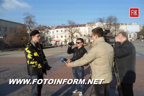 Кировоград: огромный пазл в центре города (ФОТО)