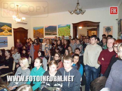 В Кировоградской галерее «Елисаветград» состоялся вечер памяти выдающегося украинского певца Андрея Кузьменко.
