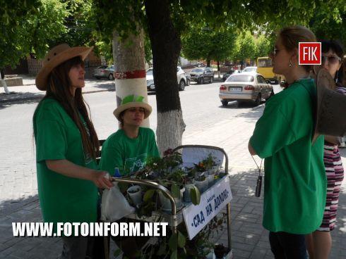 Кировоград: уличное мероприятие в центре города (ФОТО)
