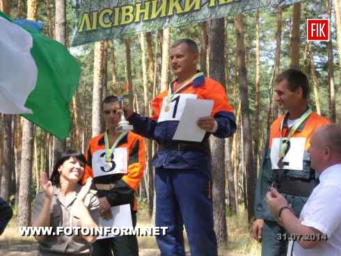 30 июля на базе Александровского лесничества состоялись соревнования вальщиков леса нашей области.