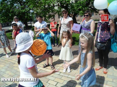Сегодня, 1 июня, на главной площади нашего города царил дух соревнования, веселья и праздника.
