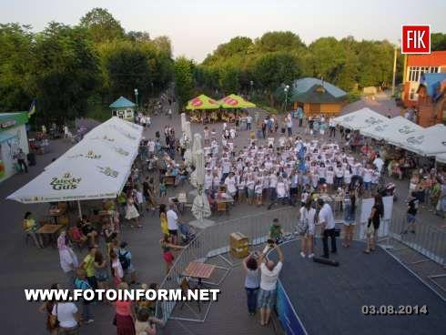 Кировоградцы выразили свой патриотизм (фото)