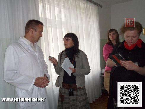 Кировоградском областном кардиологическом диспансере.