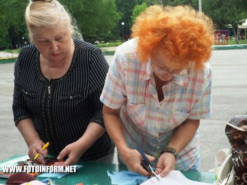 Кировоградцы присоединились к всемирному флешмобу (ФОТО)