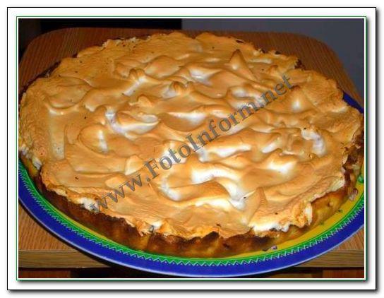 Воздушная нежность, Фруктовый пирог с безе, домашний повар, рецепты, хозяйкам на заметку