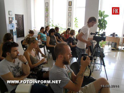 В пресс - клубе состоялась пресс - конференция руководителя Кировоградской организации защиты животных «БИМ» Татьяны Кучерявой.