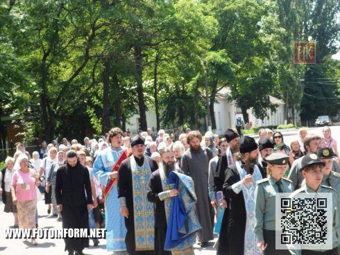 Сегодня, 1 июля, кировоградцы отметили 261- летнюю годовщину начала строительства крепости святой Елисаветы.