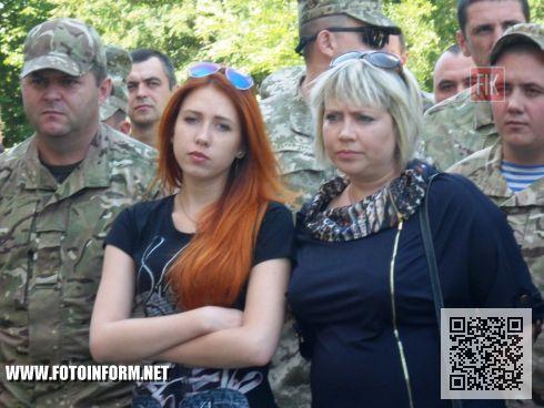 Сегодня, 4 июля, состоялось открытие мемориальной таблички Герою Украины подполковнику Сергею Сенчеву