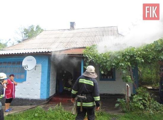 28 липня рятувальники 13-го Державного пожежно-рятувального підрозділу смт Голованівська двічі виїздили на гасіння пожеж приватних житлових будинків.