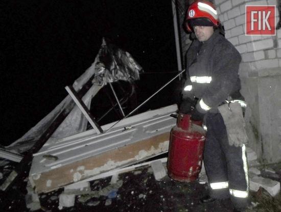 17 грудня о 17:55 до Служби порятунку «101» надійшло повідомлення про те, що у приватному житловому будинку на вул. Чапаєва у с. Межирічка Голованівського району стався вибух.