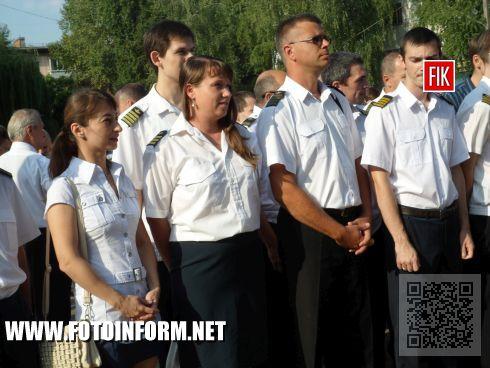 В сквере «Авианавигации», который находиться на территории Кировоградской летной академии НАУ презентавали проекта екоскверу.