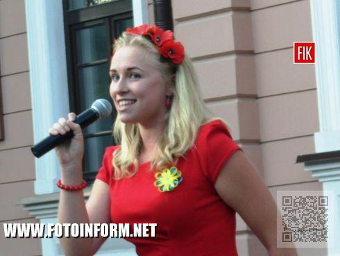Студенты факультета искусств КГПУ имени В. Винниченко подготовили для первокурсников сюрприз.