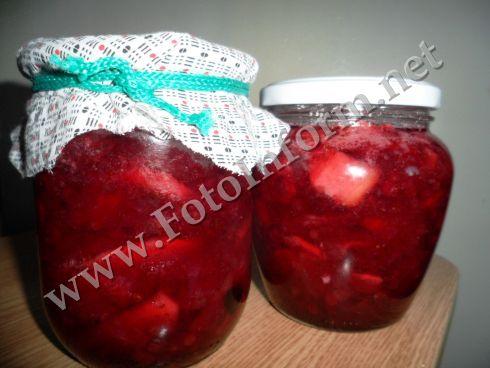 рецепт джема из брусники с яблоками и грушами.