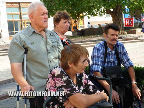 Кировограда стартовала акция «Ревизоры на колясках».