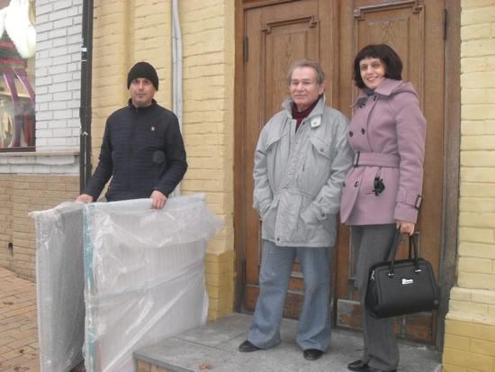 В останній день жовтня наукові співробітники Кіровоградського обласного художнього музею з робочою візитівкою побували в столиці України.