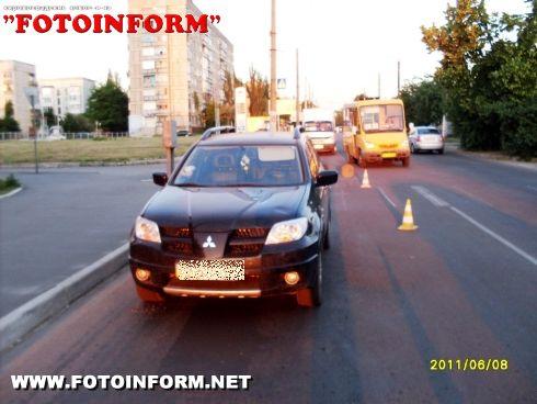 У Кіровограді на пішохідному переході збили двох дітей (ФОТО)